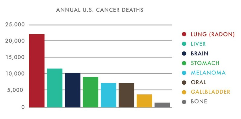 Annual US Cancer Deaths