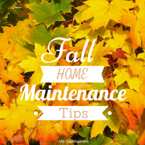 Fall is the perfect time to take care of the little things that can make a  big difference for you and your home. Most of the items listed below are  well ...