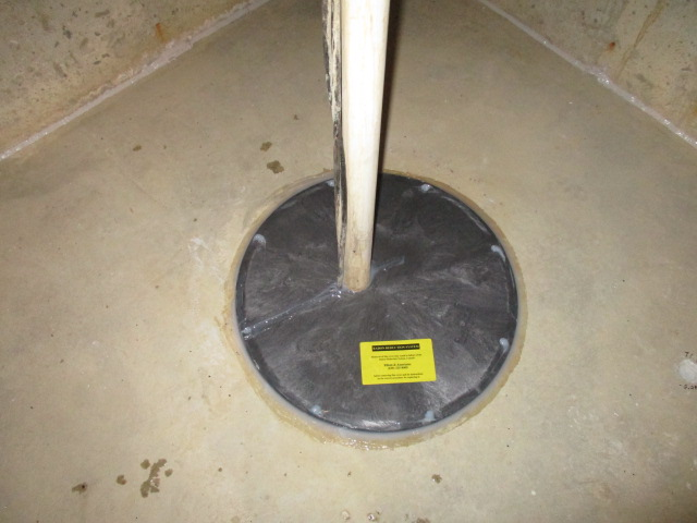 Sealed Sump Pit