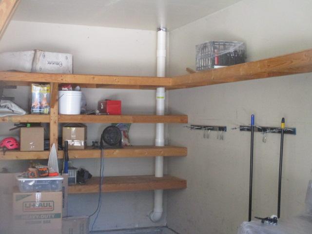 Radon-System-Garage-Shelves