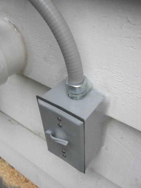 Photos Of Exterior Radon Mitigation System Installations