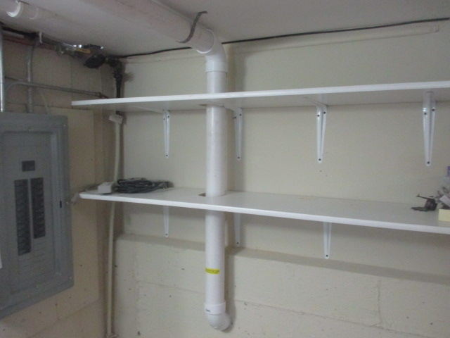 Radon System Interior Pipe
